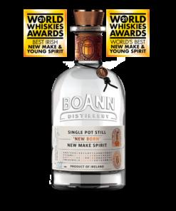 Boann Distillery Single Pot Still New Born New Make Spirit Ireland